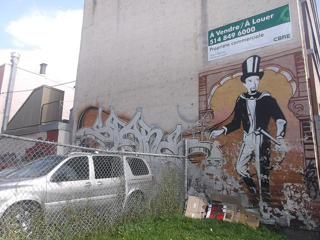 Hatter wall tag - À vendre ou à louer / For sale of for rent - Montréal, Québec, CANADA