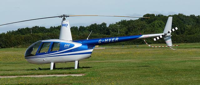 Robinson R44 Raven II G-HVER