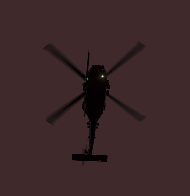 Sikorsky HH-60G Pave Hawk departs Davis-Monthan AFB, 17 September 2014