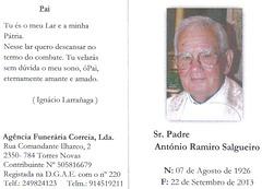 Padre António Ramiro Salgueiro