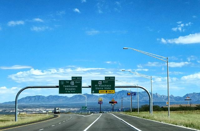 Exit The Big Road