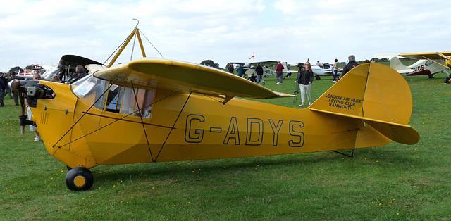 Aeronca C3 G-ADYS