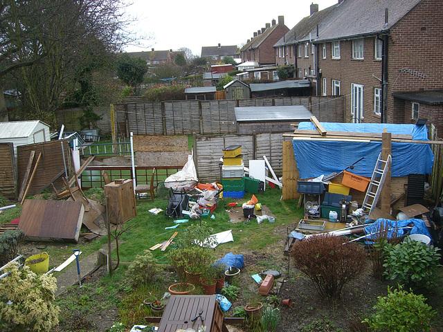 Jo's Garden - Before