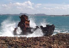 Caribbean wreck / Épave sur les caraïbes.