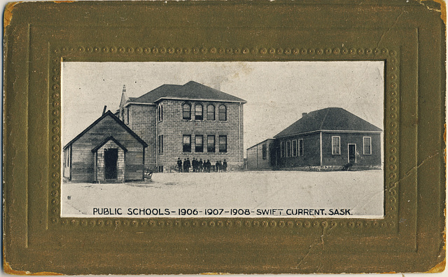 Public Schools - 1906 -1907 - 1908 - Swift Current, Sask.