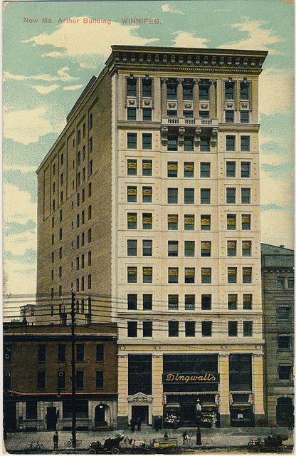 New McArthur Building, Winnipeg.