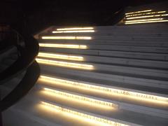 Escaliers alphabétiques / Alphabetic stairs.