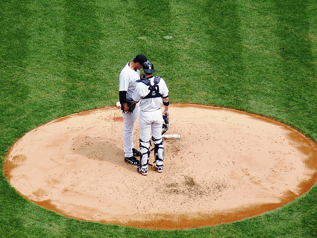 Andy Pettitte and some guy