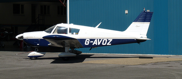 Piper PA-28-180 Cherokee G-AVOZ