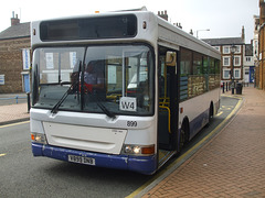 DSCF5968 Meridian Bus V899 DNB in Wellingborough - 18 Sep 2014