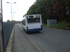 DSCF5970 Meridian Bus V899 DNB in Wellingborough - 18 Sep 2014