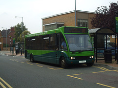 DSCF5977 Centrebus 222 (KX06 KPZ) in Wellingborough - 18 Sep 2014