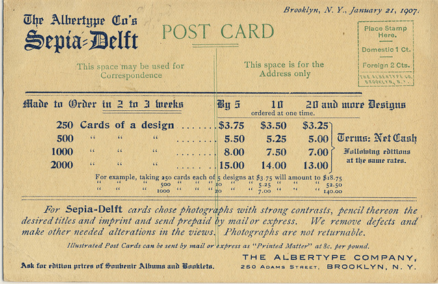 Mt. Rundle, Banff, Alta. [back with Albertype Co. pricing]