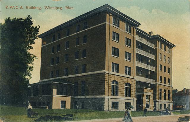 Y.W.C.A. Building, Winnipeg, Man.
