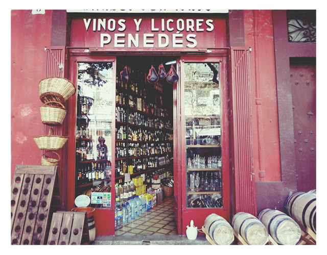 old wine store
