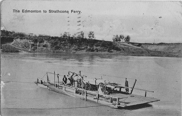 The Edmonton to Strathcona Ferry