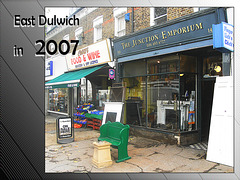 Junction Emporium & Cheers, Lordship Lane - 17.10.2007