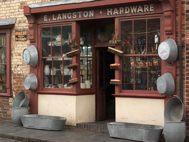 Hardware Store at The Black Country Living Museum