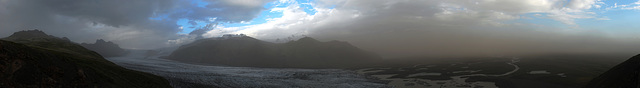 Skaftafellsjökull Panorama - Cropped