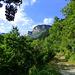 Les falaises d'Olquette
