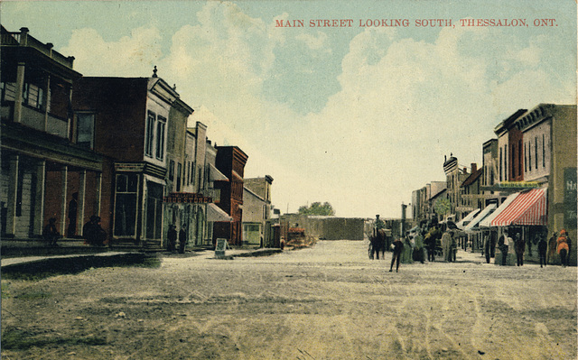 Main Street Looking South, Thessalon, Ont.