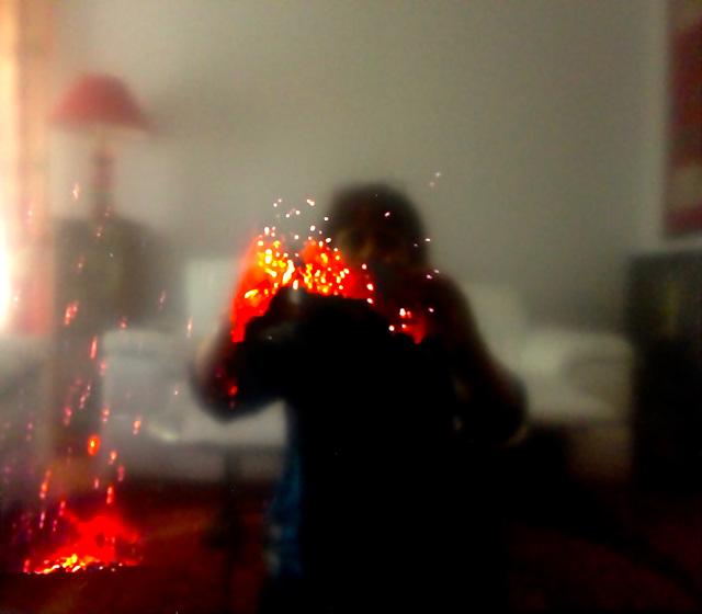 jouer avec le feu...:)