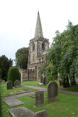 Hathersage Church, Derbyshire