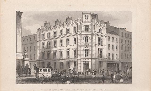 National Mercantile Assurance Building, Poultry, City of London