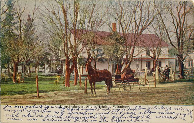 Deer Lodge, at Silver Heights, Winnipeg.