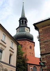 Turm der Kirche St. Cosmae et Damiani