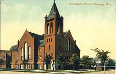 First Baptist Church, Winnipeg, Man.