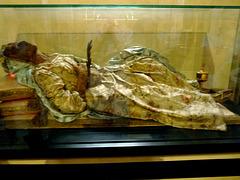 Bari- Mummified Body of Saint Columba in the San Sabino Cathedral Crypt