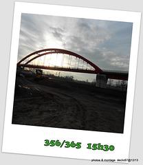 21/12                je fais le pont de Noël....