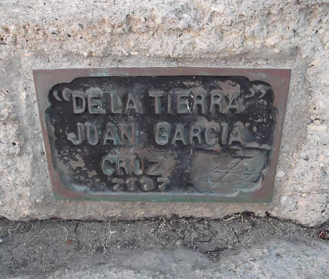 De la tierra - Juan Garcia Cruz. 2007 .