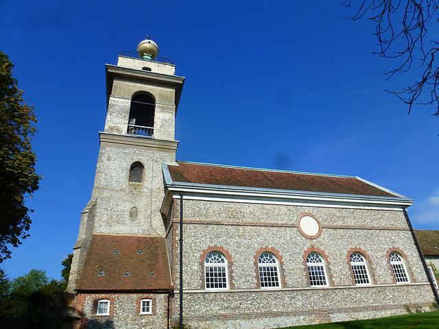 west wycombe church, bucks.