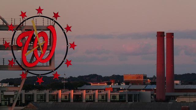 dusk over DC
