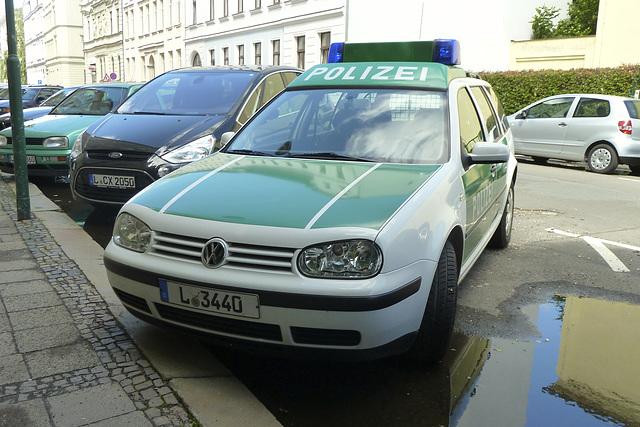 Leipzig 2013 – Police Volkswagen Golf IV Variant