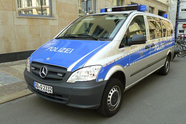 Leipzig 2013 – Mercedes-Benz Police van