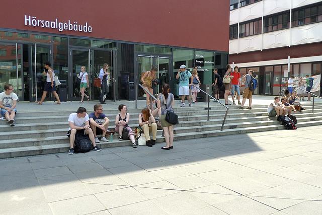 Leipzig 2013 – Present-day students