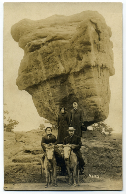 Garden of the Gods, Colorado, 1914