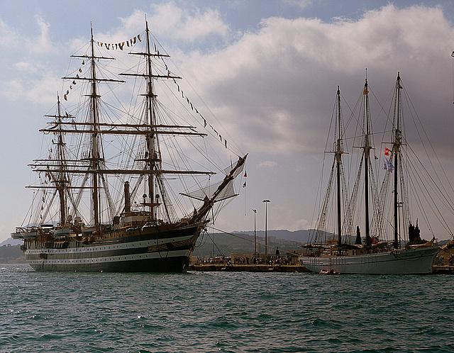 ...Toulon   ,les voiliers anciens...