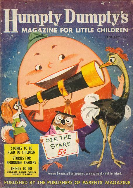 Humpty Dumpty -  January, 1957