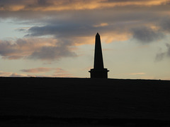 Stoodley Pike at sunset
