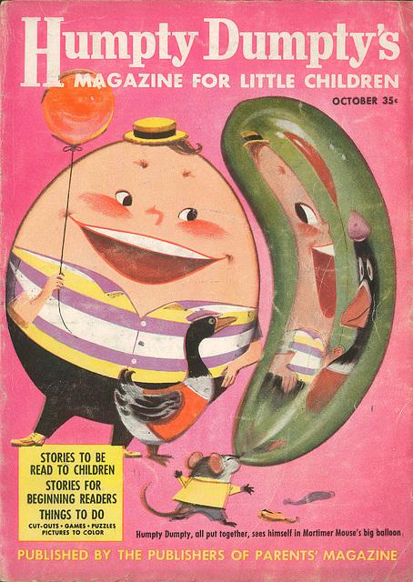 Humpty Dumpty -  October, 1957