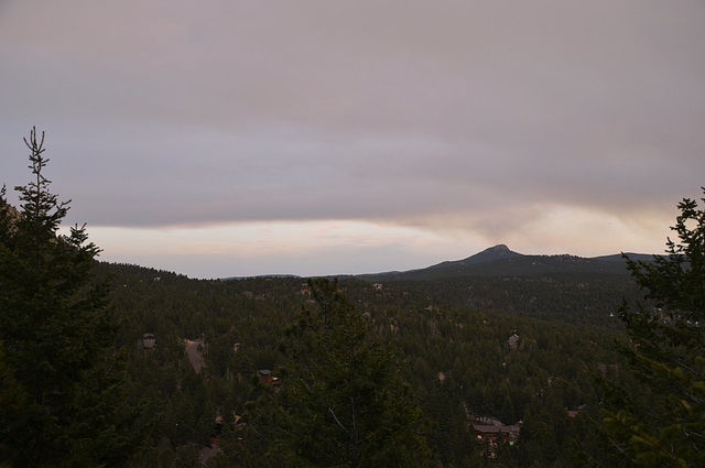 Lower North Fork Fire, 3/27/2012
