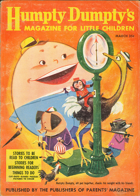 Humpty Dumpty -  March, 1957