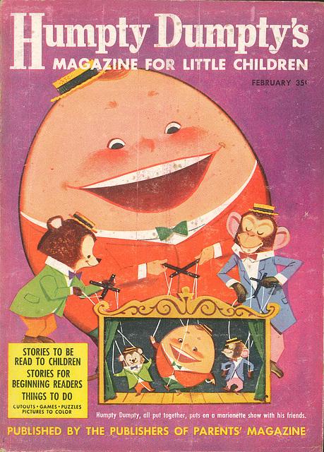 Humpty Dumpty -  February, 1958