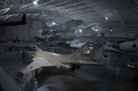 Hangar A in Infrared