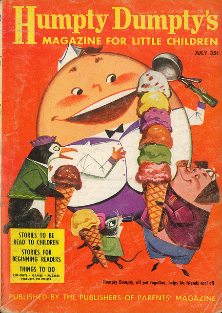 Humpty Dumpty -  July, 1957