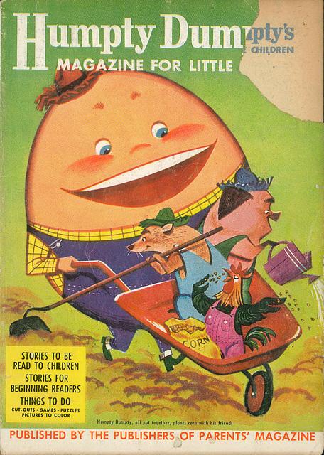 Humpty Dumpty -  July, 1956